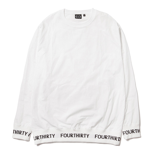 FOURTHIRTY (430) S/S FLAG ICON SWEAT / GRY / サイズ1