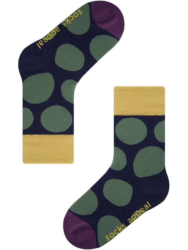 KIDS PEBBLE DOT NAVY