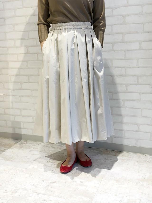 MidUmi/01505/バルーンスカート(ライトベージュ)