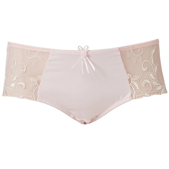 Pour Moi Imogen Rose Emb  ボーイレングスショーツ  ピンク
