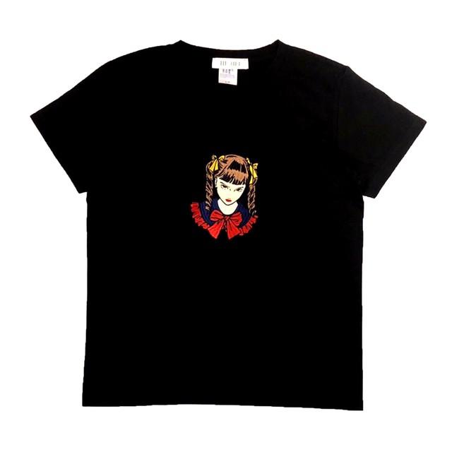 刺繍Tシャツ ガールA