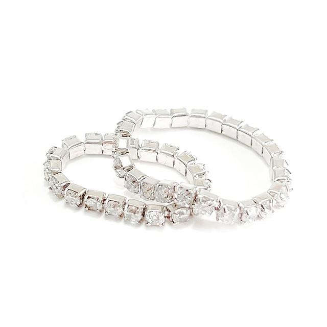 s925 Tennis Chain Ring