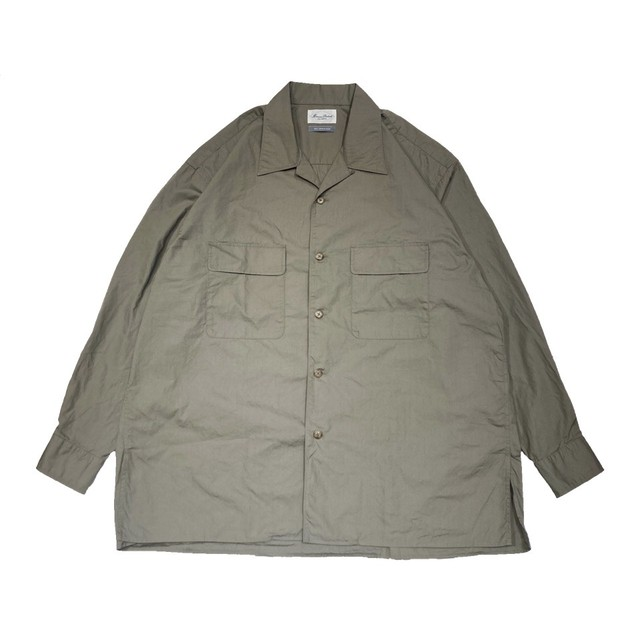 【Marvine Pontiak shirt makers】Open Collar SH