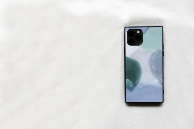 iPhone 強化ガラススマホケース 【ナツ】