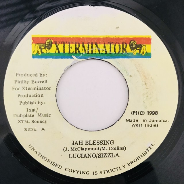 Luciano & Sizzla -Jah Blessing【7-10961】