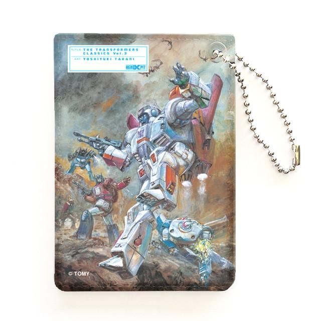【特製ステッカー付】【予約注文商品】HERO-X PIT「トランスフォーマー  クラシックス VOL.3」パスケース