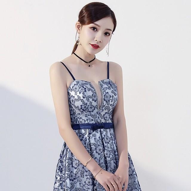 刺繍ドレスふくらんでいるプリンセスドレスYN2094