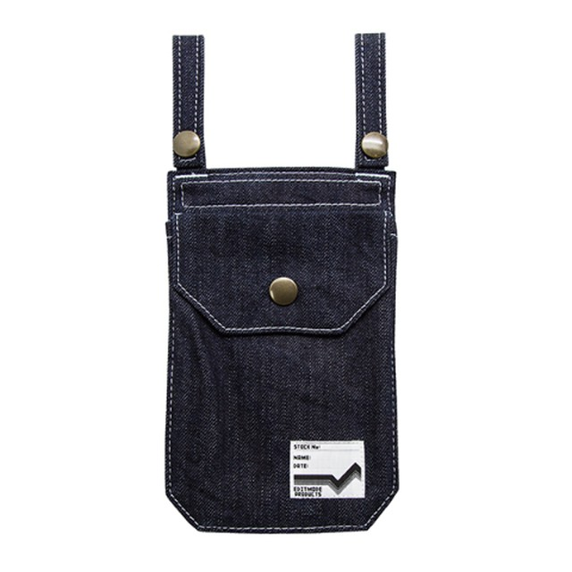 EDITMODE PRODUCTS / DENIM POUCH (デニムポーチ)ペイズリー