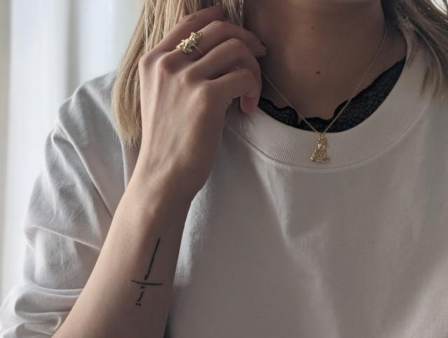 【labyrinthvintage】 Kitty necklace