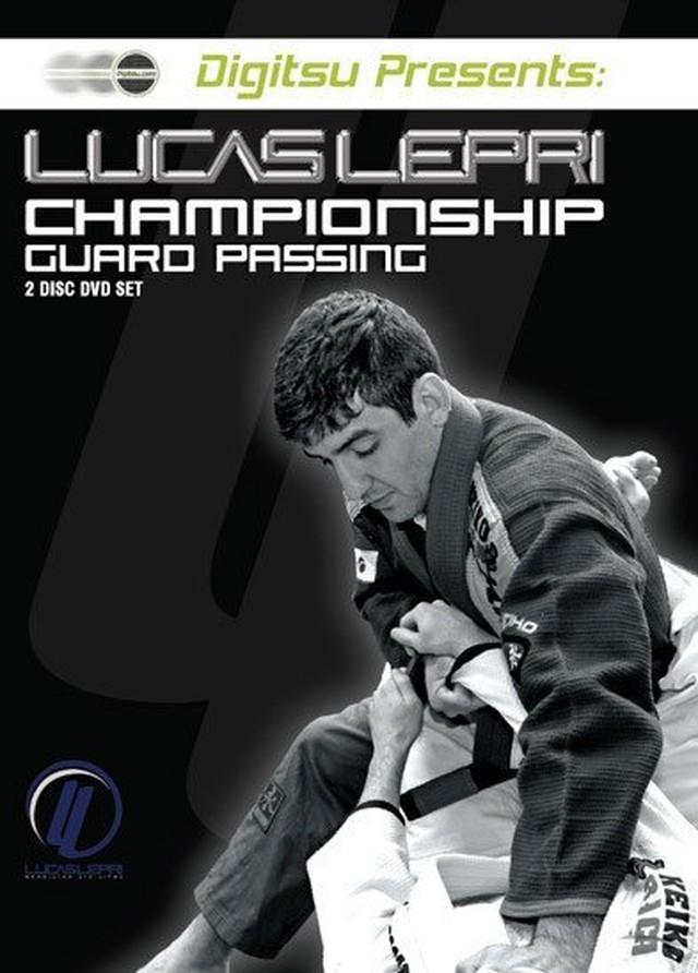 ルーカス・レプリ チャンピオン・ガード・パッシング DVD| ブラジリアン柔術教則DVD
