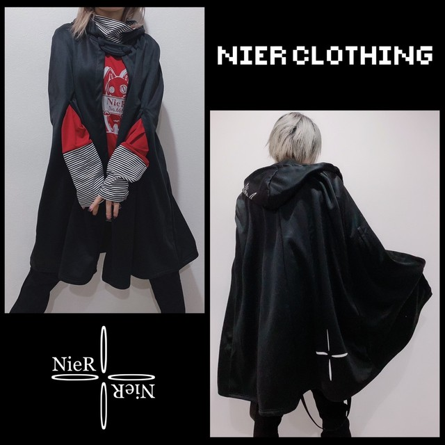 裏地FLEECE CAPE OUTER【NieRポンチョ】
