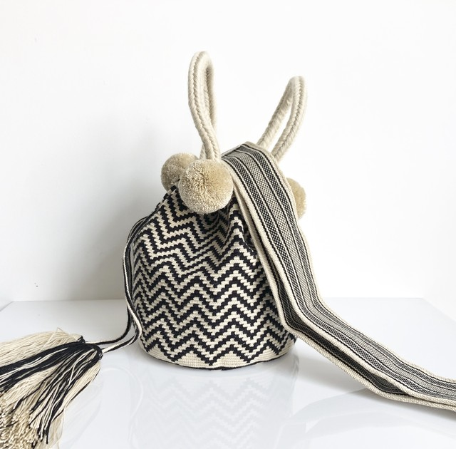 ワユーバッグ (Wayuu bag) Basic line 2Way Lサイズ
