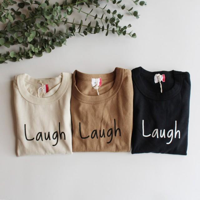 FOV LAUGH L/S Tシャツ クリーム(S/M/L/XL/F) メール便可