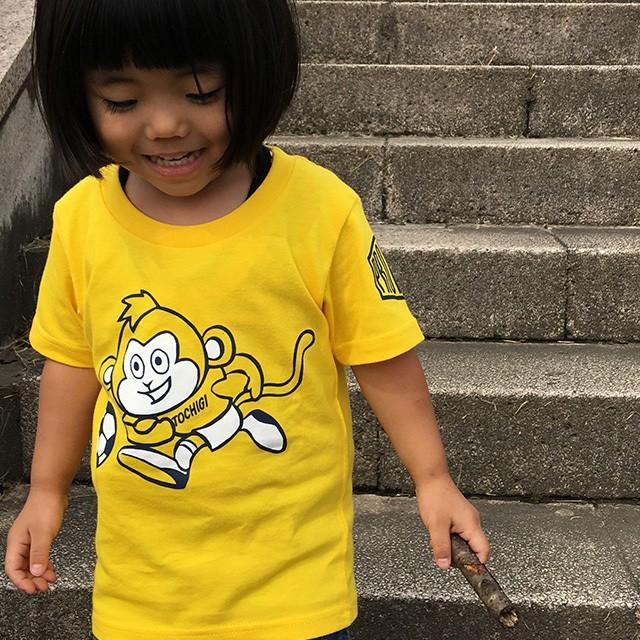 Tシャツ キッズ ZOOシリーズ サッカー さる