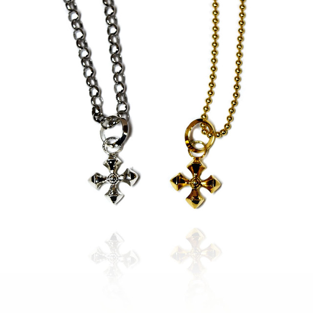 【送料無料】Crux Crystal Necklace 2colors by Sorpresa Collection【品番 17A2002】