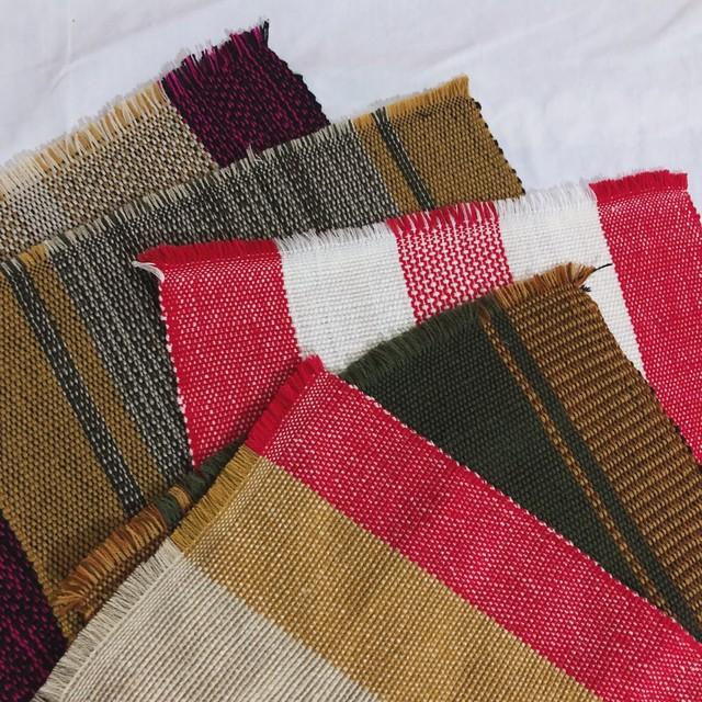 バギオ織のランチョンマット/Baguio weavings  [フィリピン・バギオ]