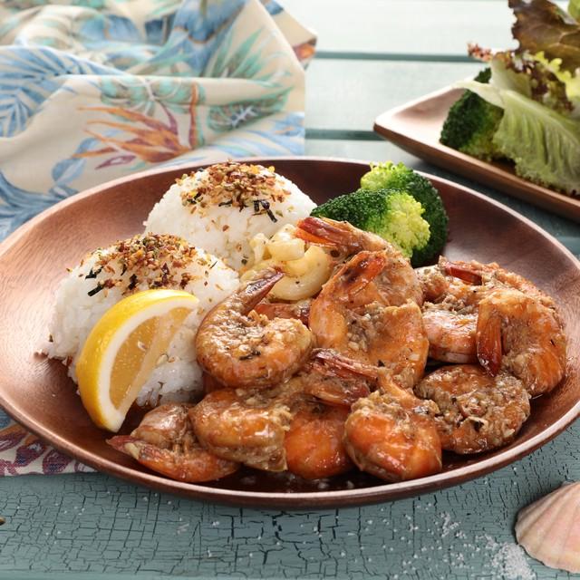 【ハワイ /North Shore Garlic Shrimp  Truck5】 ケイジャンガーリックシュリンプ(300g/約2人前)