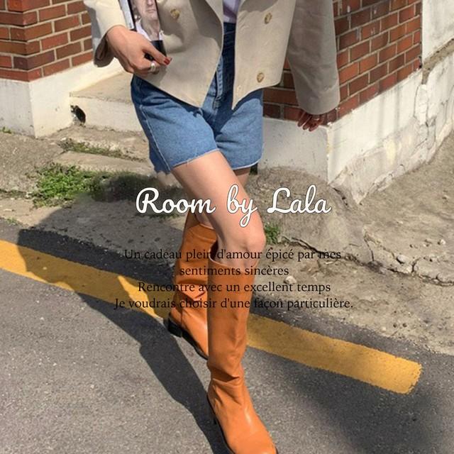 【即納】Knee-high boots / ブーツ / LE202203