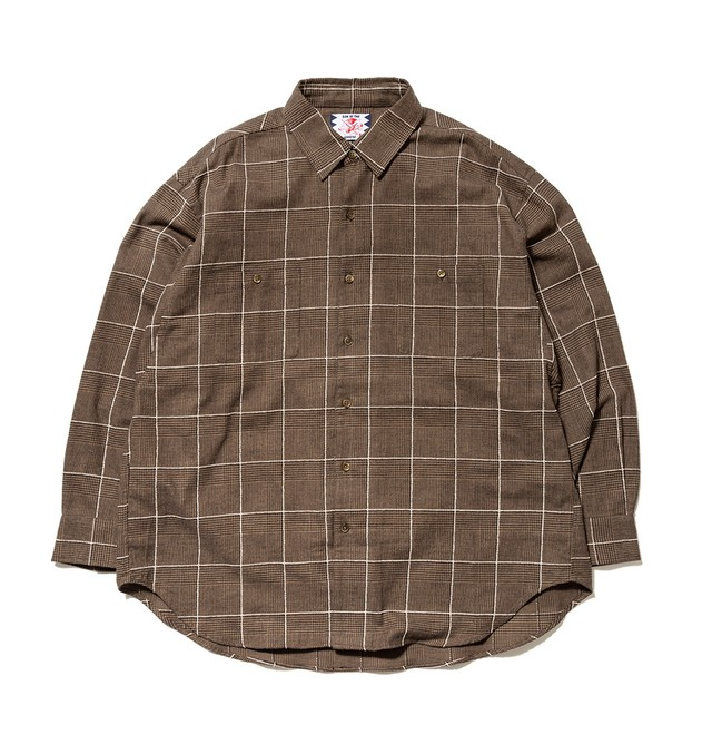 【SON OF THE CHEESE】Big Check Shirt