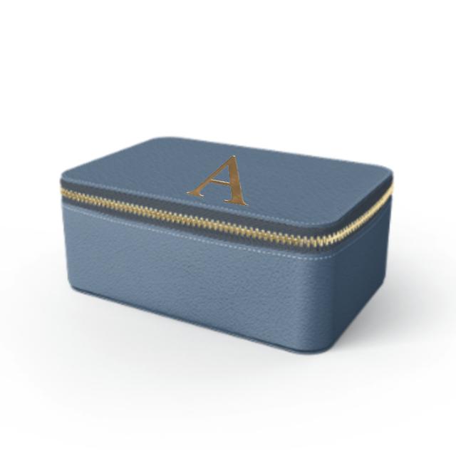 Box Premium Smooth Leather Case (Capri Blue)