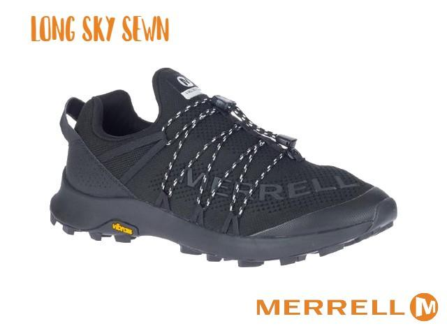 【merrell】 LONG SKY SEWN(BLACK)