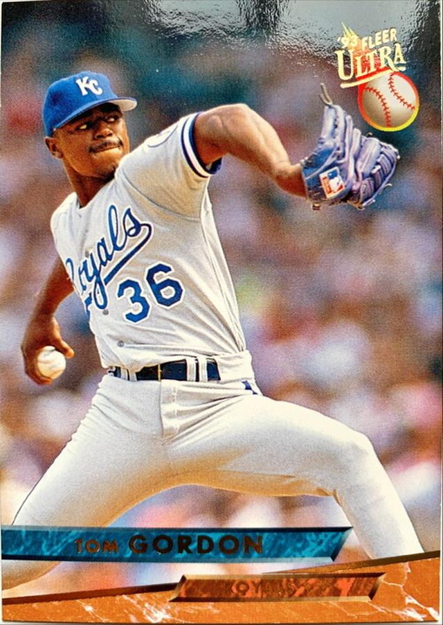 MLBカード 93FLEER Tom Gordon #207 ROYALS