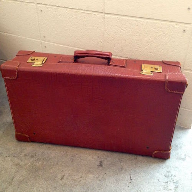 Trunk case, brown