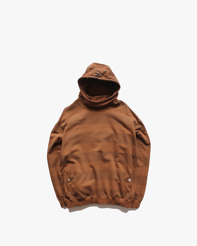 PHINGERIN SHADOW BORDER PARKA  DARK BROWN