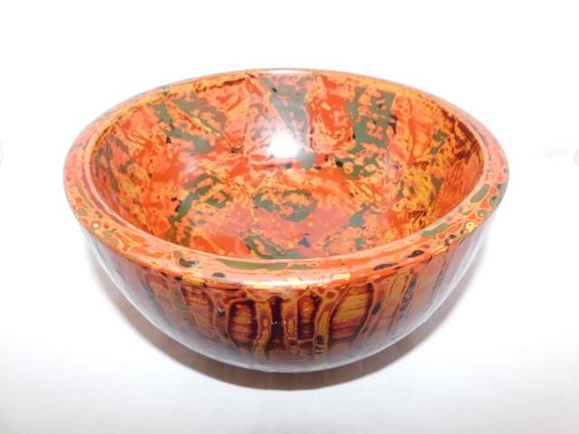 漆香合 lacquer ware box with cover(N06)