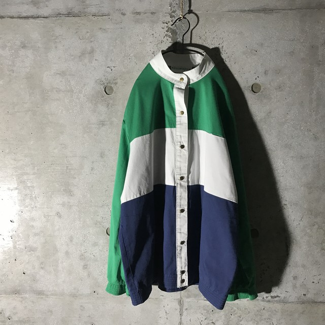 [used] three colours bordered shirt
