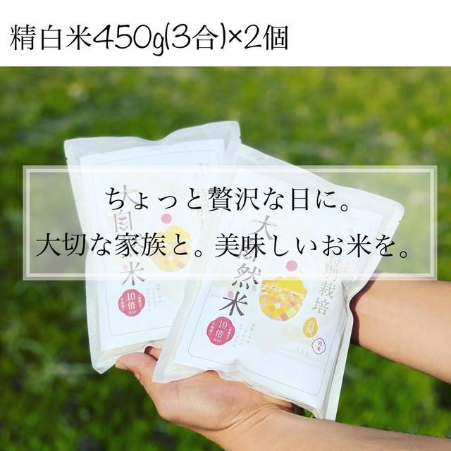 大自然米【900g】450g(3合)×2 精白米