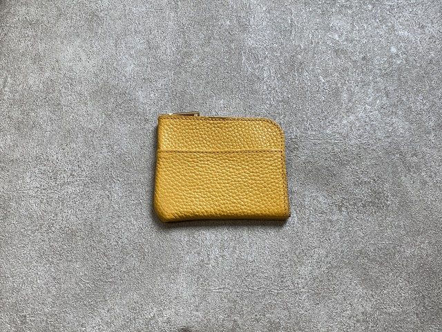 L-shaped Small Wallet: (soft shrink) Color : Yellow