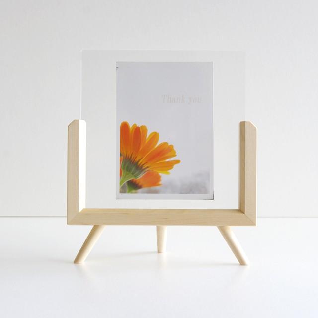 3leg photoframe/写真立て/S