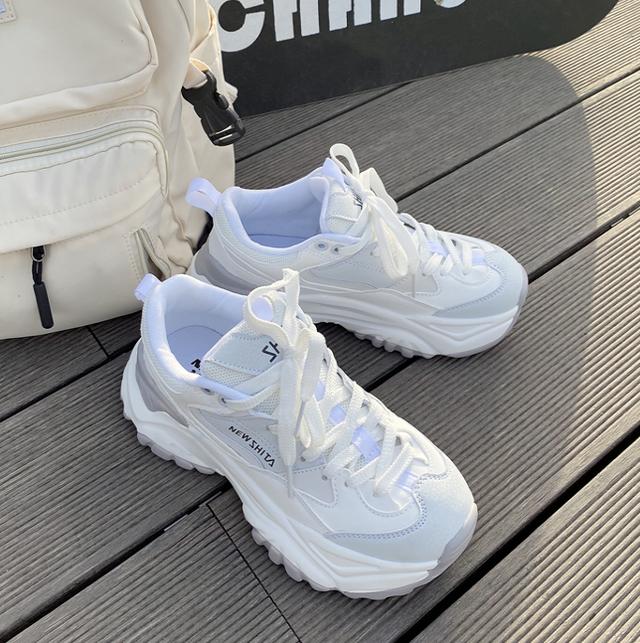 Basic design platform sneakers LD0448