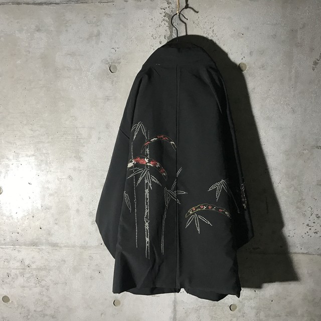 [used] bamboo designed haori