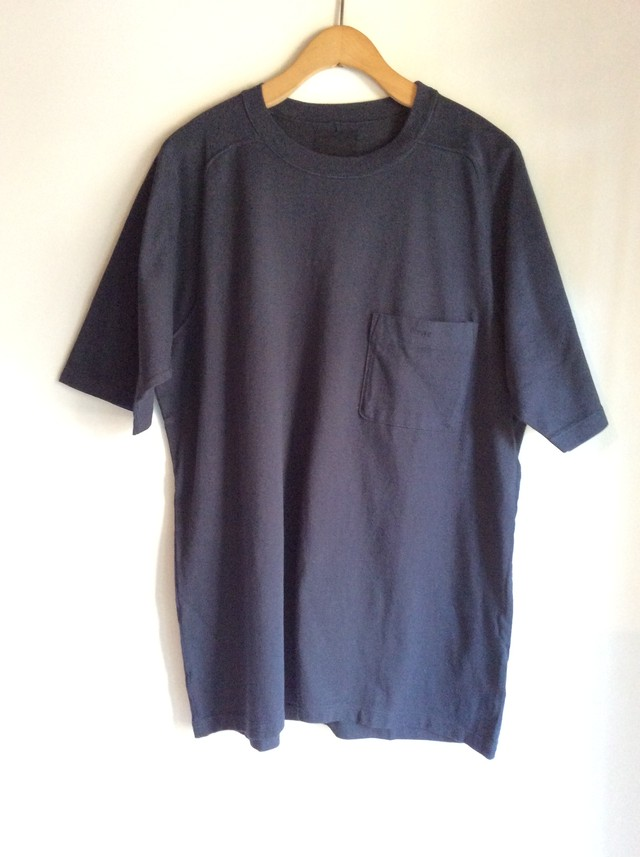 THE HINOKI リネンコットンのスタンドカラーシャツ