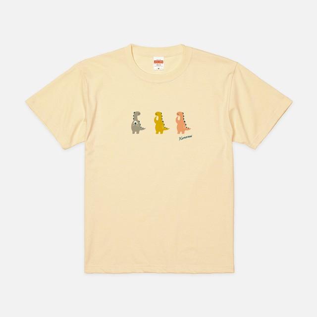 Tシャツ[おちょきん]けなるい スモーキー ナチュラル色