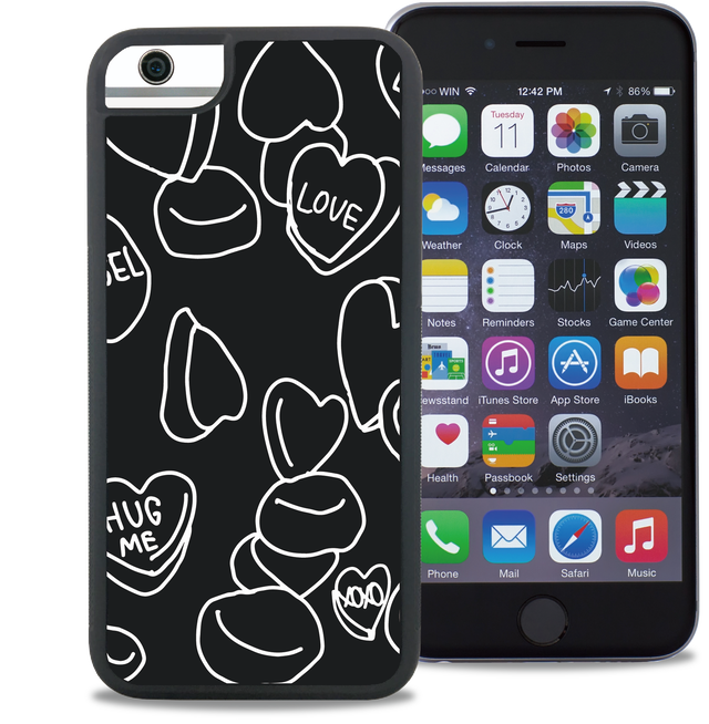 ウェイリー(WAYLLY) LOVE CANDY ※iPhone主要全機種対応!iPhone5/5s/5c/SE/6/6s/7/8/PLUS/X/ 対応!