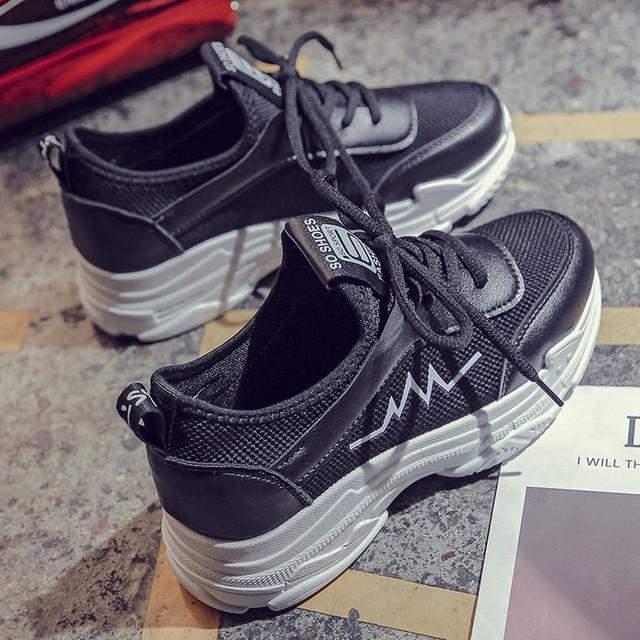 【shoes】カジュアル厚底新作トレンドオリジナルスニーカー 23161796