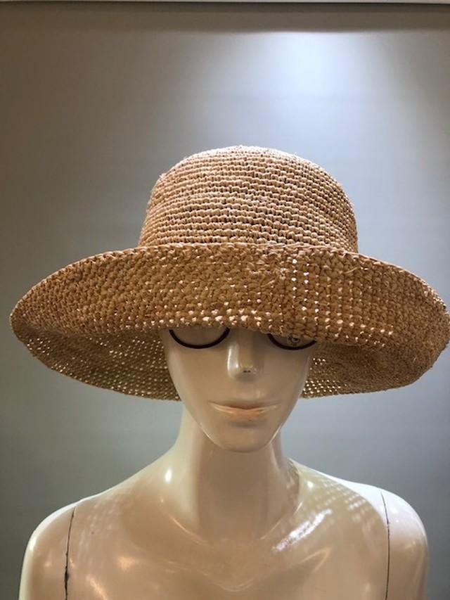 Sans Arcidet (サンアルシデ)FANNY HAT Col.NATURAL ラフィア定番人気の帽子 マダガスカル製