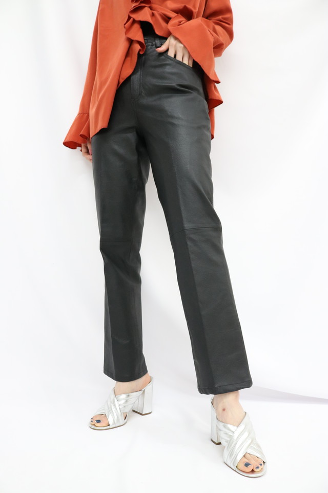 leather pants / 5SSPT03-02