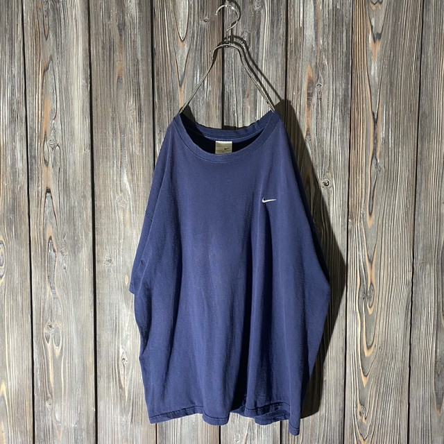 [NIKE]one point navy T shirt