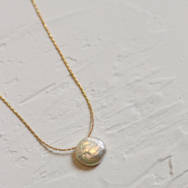 「order」baroque pearl necklace n004