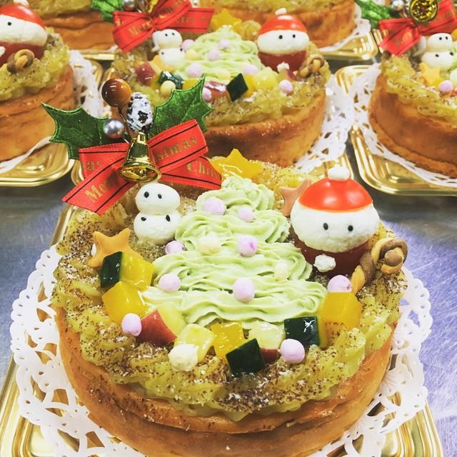【12月22日お届け】 Manawanクリスマスケーキ
