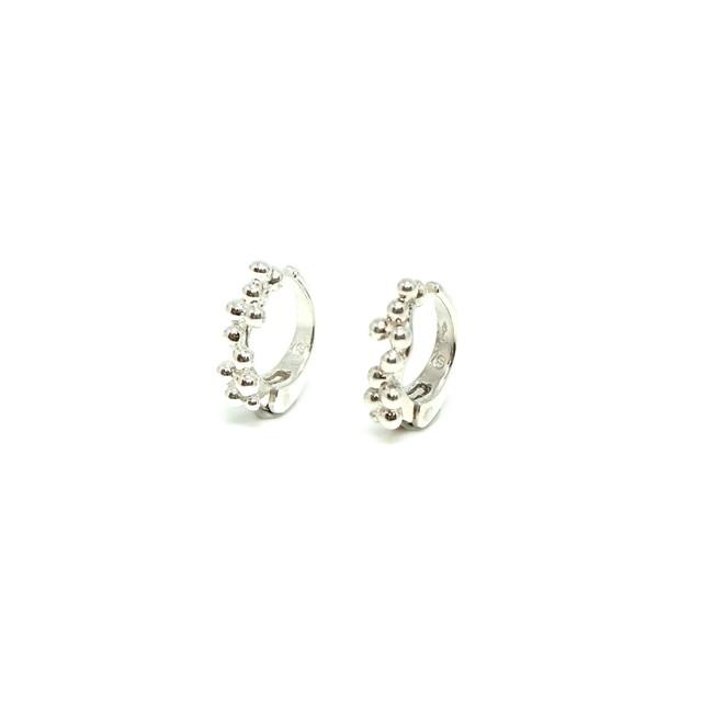 Granulation multiple earings SV - Sサイズペア