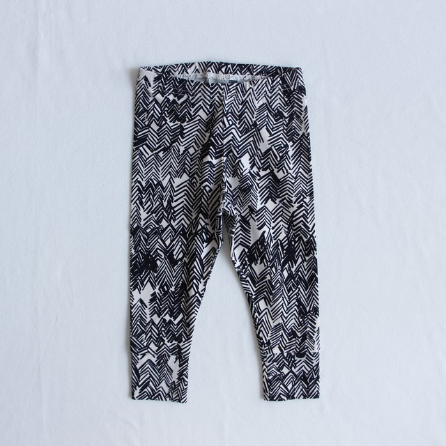 《PAPU 2020AW》FOLD  LEGGINGS / DRAWING aop