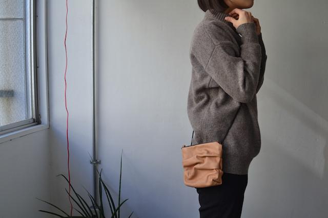MUSUBI : 06 shoulder bag-L(2way)