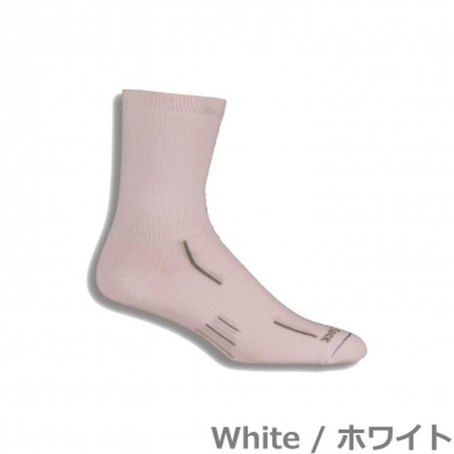 WRIGHTSOCK STRIDE - Crew ホワイト M or Lのみ