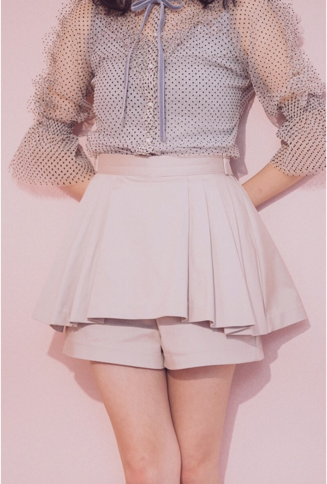 ♡SALE♡【Lilien Room】Steady Girls Culotte