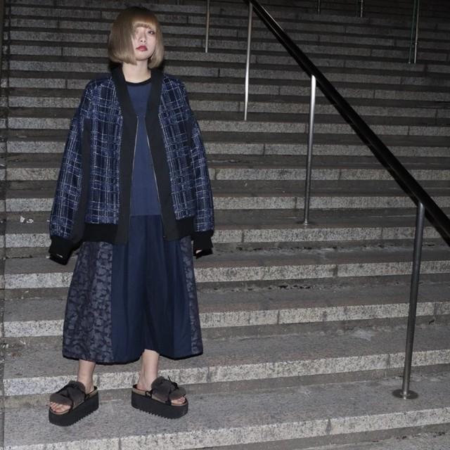 Kimono-Blouson (blue)